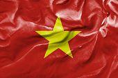 Amazing Flag of Vietnam, Asia