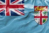 Amazing Flag of Fiji in Germany, Asia