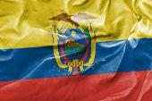 Amazing Flag of Ecuador, Latin America