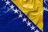 Amazing Flag of Bosnia and Herzegovina