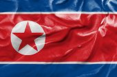 Amazing Flag of North Korea, Asia