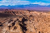 Death Valley in Atacama Desert, Chile - South America (Valle de la Muerte)