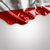 Waving flag of Poland, Europe
