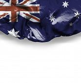 Waving Flag of Australia, Oceania