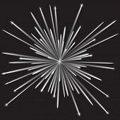 Monochrome Fireworks