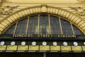 Flinders Station in Melbourne, Australia