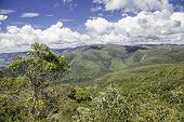 Mountain landscape in Minas Gerais (Matutu), Brazil