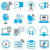 communication and network icons