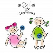 Doll With Flower