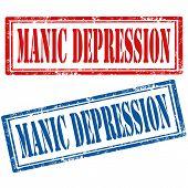 Set Of Manic Depression Stamps
