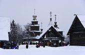 Christmas. Suzdal.
