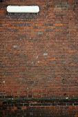 Old Fashioned Street Sign Brick Wall