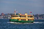 Sydney ferry approaches Taronga Zoo