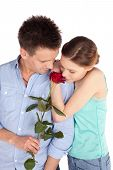 Tender Couple In Love