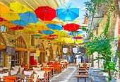 Under Umbrellas