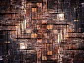 The Grunge Bamboo Texture Background