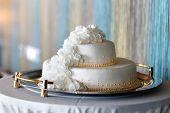 Big White Wedding Cake