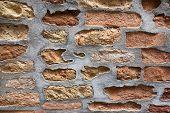 Old Italian brick work