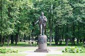 monument Zorich Semyon Gavrilovich Russian philanthropist and educator.