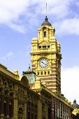 image of cbd  - Flinders Street Station - JPG