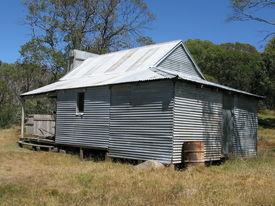foto of bogong  - Faithfuls hut on the Bogong High Plains Victoria - JPG