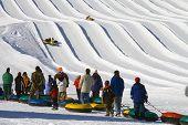 Snow Tubing Slide