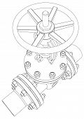 picture of valves  - Industrial valve - JPG