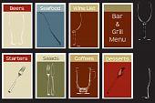 A Steakhouse Menu Concept