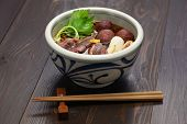picture of buckwheat  - kamo nanban soba - JPG