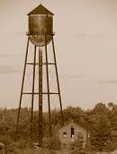 Vintage Water Tower