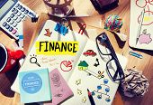 picture of messy  - Finance Accounting Adhesive Note Banking Budget Business Concept - JPG