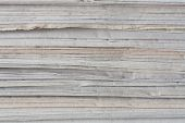 stock photo of recycled paper  - Stack of old paper - JPG