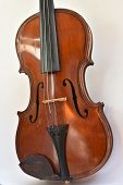 stock photo of violin  - Old violin - JPG