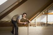 image of attic  - Reconstruction of the attic  - JPG