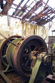 Abandoned Mine Winch