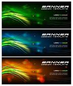 Modern Vector Banner Design Template Series