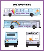 abrigo del autobús del vector