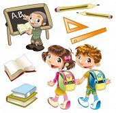Elementos de la escuela