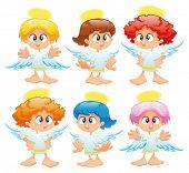 Familie der Engel