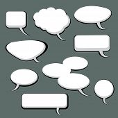 9 Speech And Thought Bubbles