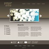 Abstract business web site design template vector