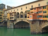 Old Bridge (Ponte Vecchio) In Florence