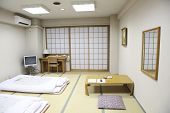 the japanese room which named tatami.
