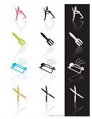 Garden Tools Icon Set 3 (Vector)