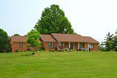 Casa de fazenda rural