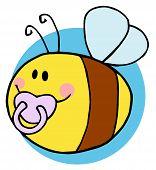 Flying Baby Bee Character