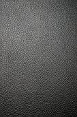 Textura de couro preto (macro)