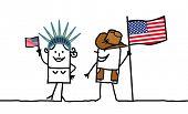 Pessoas e Estados Unidos