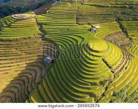 Aerial View Of Vietnam Landscapes