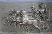 Achillion Palace Bronze Relief